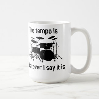 tempo is whatever I say Mugs
