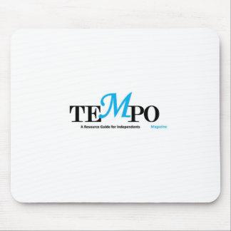 Tempo Magazine Tie Mouse Pad