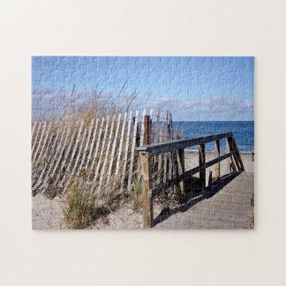Temporada baja de la playa rompecabezas
