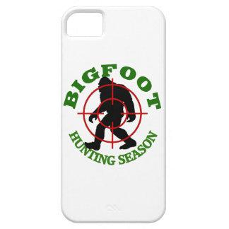 Temporada de caza de Bigfoot iPhone 5 Carcasa