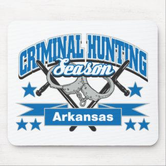 Temporada de caza del criminal de Arkansas Alfombrillas De Raton