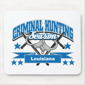 Temporada de caza del criminal de Luisiana Alfombrilla De Ratón