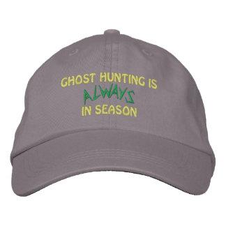 Temporada de caza del fantasma gorras de beisbol bordadas