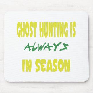 Temporada de caza del fantasma alfombrilla de ratón