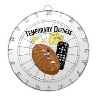 Temporary Defness Dart Board