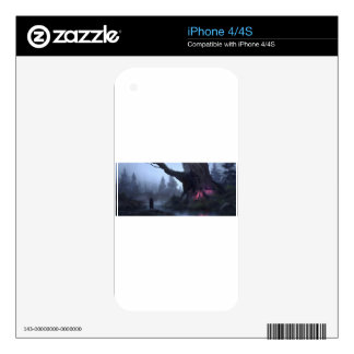 Temporary Safety iPhone 4 Skins