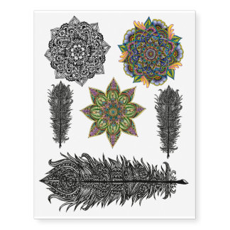 Temporary Tattoo Design Combo 1