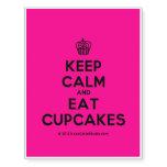 [Cupcake] keep calm and eat cupcakes  Temporary Tattoos
