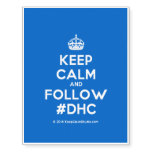 [Crown] keep calm and follow #dhc  Temporary Tattoos