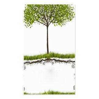 temporeros ambientales abstractos elegantes de la tarjetas de visita