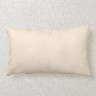 Temporeros de papel antiguos beige del pergamino cojín