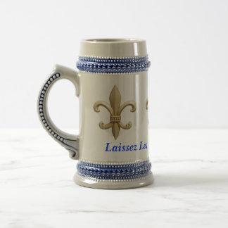 Temps Rouler Fleur del Bon de Laissez Taza De Café