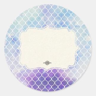 Temptation- Classic Round Sticker