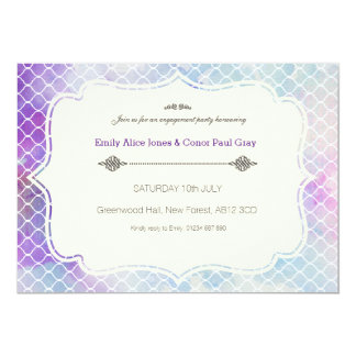 "Temptation Engagement party invitation 5"" X 7"" Invitation Card"