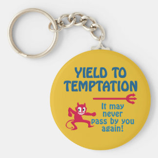 Temptation keychain