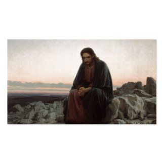 Temptation of Christ Double-Sided Standard Business Cards (Pack Of 100)