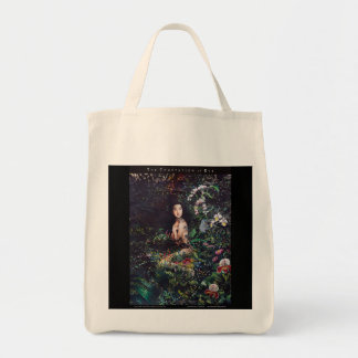 Temptation of Eve Watercolor Painting Tote Bag