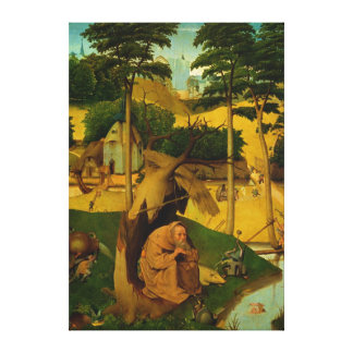 Temptation of St. Anthony, 1490 Stretched Canvas Print