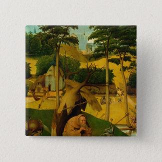 Temptation of St. Anthony, 1490 Pinback Button