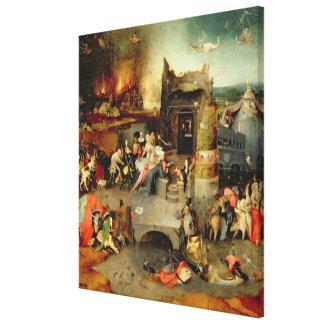 Temptation of St. Anthony Canvas Print