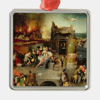 Temptation of St. Anthony Metal Ornament
