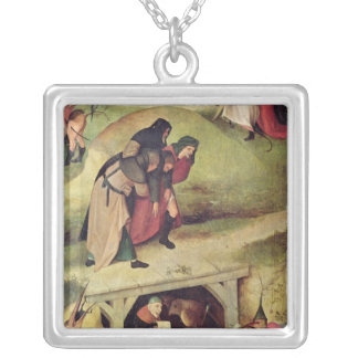 Temptation of St. Anthony Silver Plated Necklace