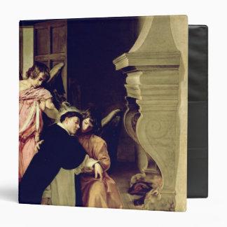 Temptation of St.Thomas Aquinas 3 Ring Binder