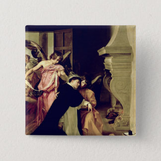 Temptation of St.Thomas Aquinas Pinback Button