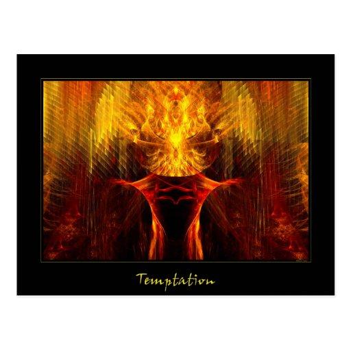 Temptation Post Cards