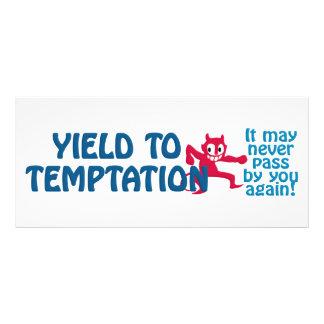 Temptation rack card