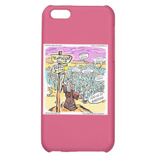 Temptation Road Moses Funny iPhone 5C Cases