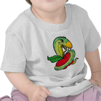 Temptation Snake T-shirts