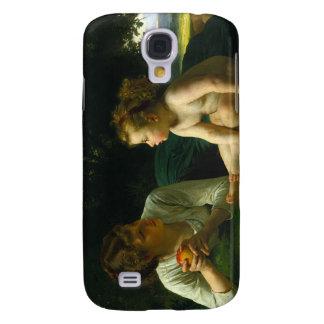 Temptation William-Adolphe Bouguereau Samsung Galaxy S4 Cover