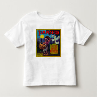Temptation Yam LabelPittsburg, TX T-shirt