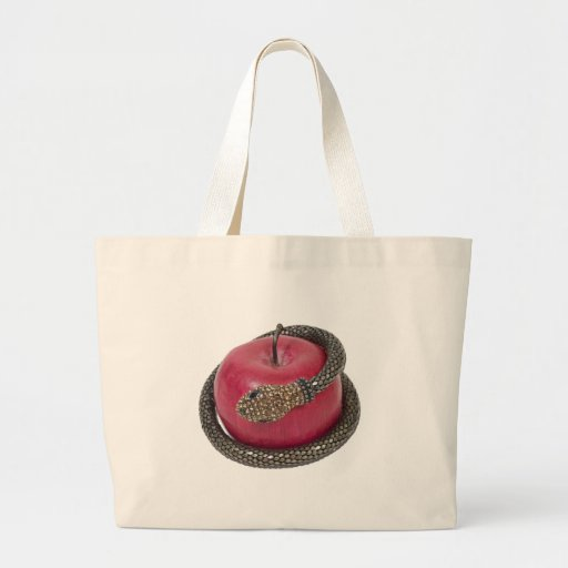 TemptationAppleSnake112311 Canvas Bag