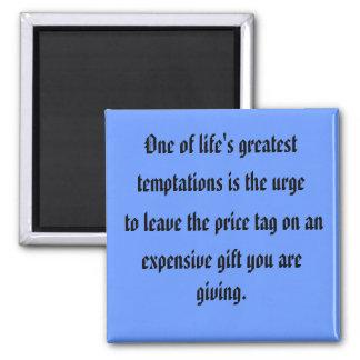 temptations 2 inch square magnet