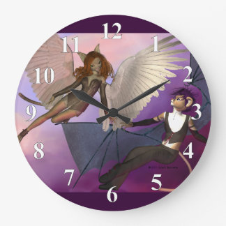 Tempted Large Clock