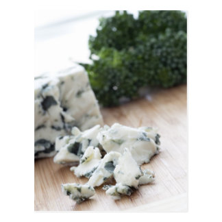 Tempting Blue Cheese Postcard