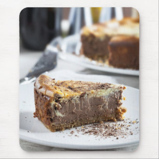 Tempting Chocolate Cheesecake Mouse Pad