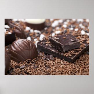 Tempting Chocolate Print