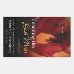 Tempting the Best Man by Jennifer L. Armentrout Rectangular Sticker