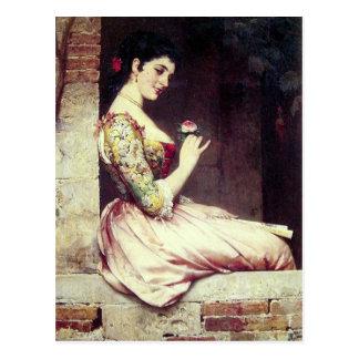 Temptress - Andreotti Postcard