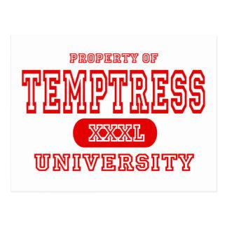 Temptress University Postcard