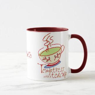 Temptress with a teacup Mug