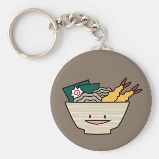 Tempura ramen bowl nori shrimp Japanese noodles Keychain