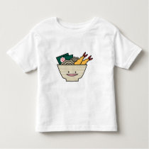 Tempura ramen bowl nori shrimp Japanese noodles Toddler T-shirt