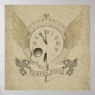 Tempus Fugit (el tiempo vuela) Poster