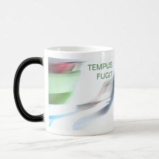 TEMPUS FUGIT MORPHING MUG