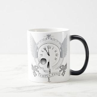 Tempus Fugit (time flies) 11 Oz Magic Heat Color-Changing Coffee Mug
