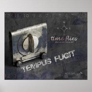 Tempus Fugit (Times Flies) Print